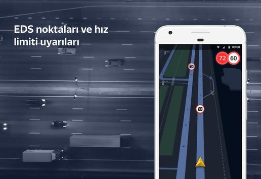 Yandex Navigasyon - Trafik, GPS ve Haritalar Ekran Görüntüsü 4