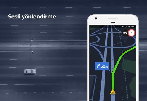 Yandex Navigasyon - Trafik, GPS ve Haritalar Ekran Görüntüsü 5
