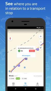 Яндекс.Транспорт скриншот 2