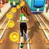 corrida de metrô da princesa real ícone