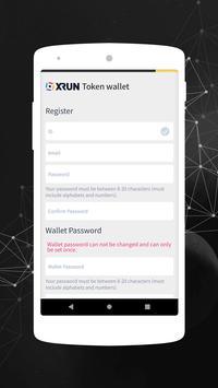 XRUN Wallet screenshot 4
