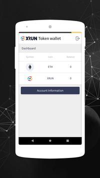 XRUN Wallet poster