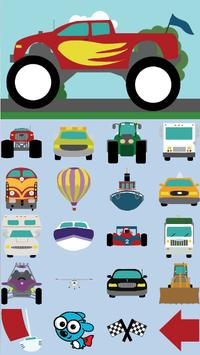 Toddler Cars captura de pantalla 2