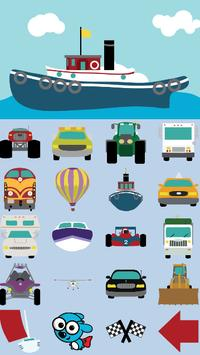 Toddler Cars captura de pantalla 3