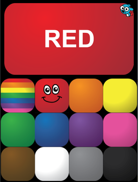 Toddler Colors poster