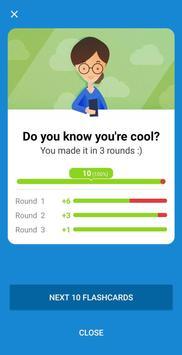 Learn Russian Language Vocab - Voc App Flashcards screenshot 1