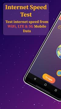 Internet Speed Test - 4G, LTE, Wifi Speed Test poster