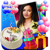 Birthday Photo Frames, Greetings and Cakes 2020 icon