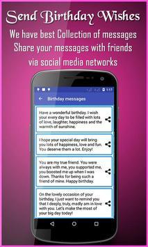 Birthday Greeting Cards Maker Screenshot 7