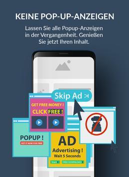 AdBlocker Ultimate Browser Screenshot 1