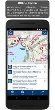Outdoor and Hiking Navigation screenshot 1