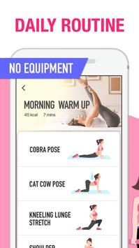 Female Fitness - Women Workout screenshot 3