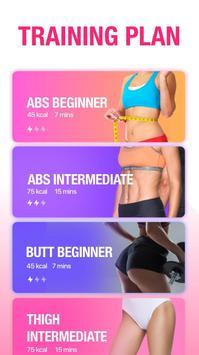 Female Fitness - Women Workout screenshot 1