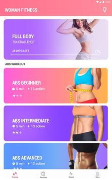 Women Workout at Home - Female Fitness screenshot 5