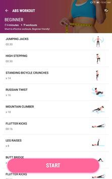 Female Fitness - Women Workout screenshot 6