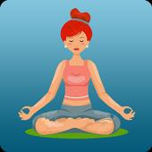 Iniciantes de ioga - exercícios para perder peso ícone