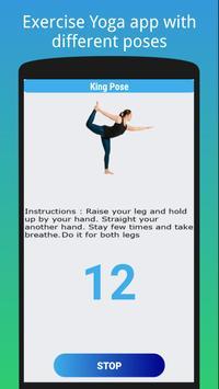 Iniciantes de ioga - exercícios para perder peso imagem de tela 4