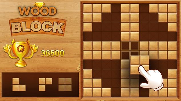 Wood Block Puzzle ảnh chụp màn hình 6