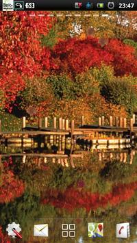 lake autumn lwp screenshot 2
