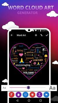 Word Cloud Art Generator screenshot 6