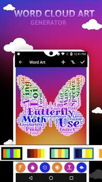 Word Cloud Art Generator screenshot 1