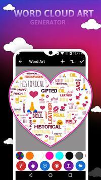 Word Cloud Art Generator screenshot 2