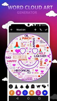 Word Cloud Art Generator screenshot 3