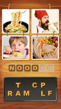 4 Pics 1 Word Cookie Affiche