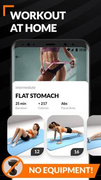 Home Workout for Women - Female Fitness screenshot 3