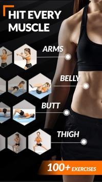 Home Workout for Women - Female Fitness poster