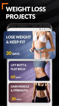 Home Workout for Women - Female Fitness screenshot 2