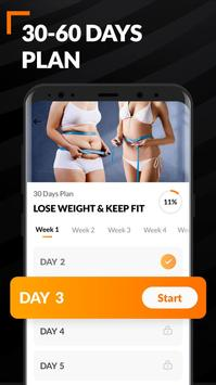 Home Workout for Women - Female Fitness screenshot 4