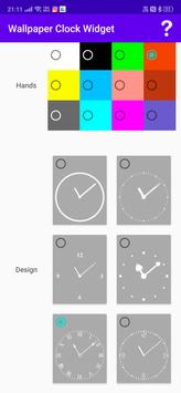 Wallpaper Clock Widget screenshot 7