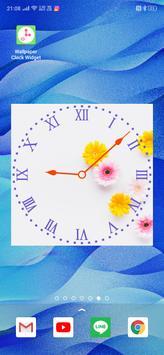 Wallpaper Clock Widget poster