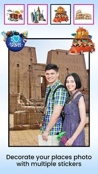 World Tour Places Photo Editor screenshot 2