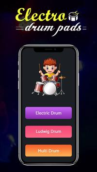 Electric Real Drum poster