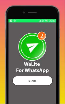 Lite for whatsApp update poster