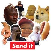 Meme Stickers for WA - WAStickerApps icon