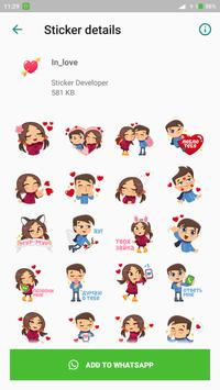 Love You Sticker for Whatsapp screenshot 3