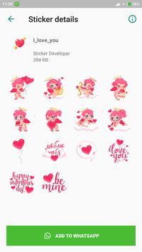 Love You Sticker for Whatsapp screenshot 4