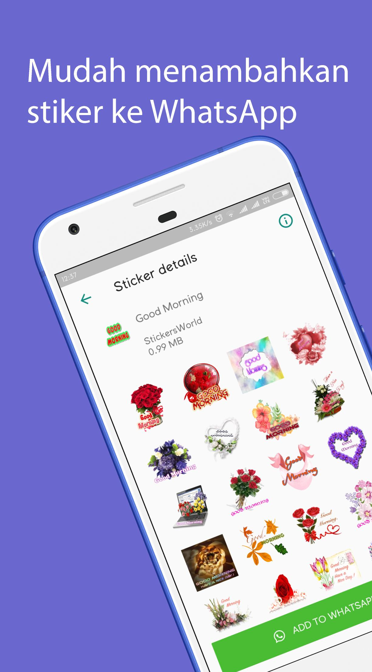 Selamat Pagi Stiker For Android APK Download