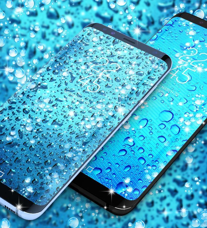 Water Drops Live Wallpaper Screenshot 4