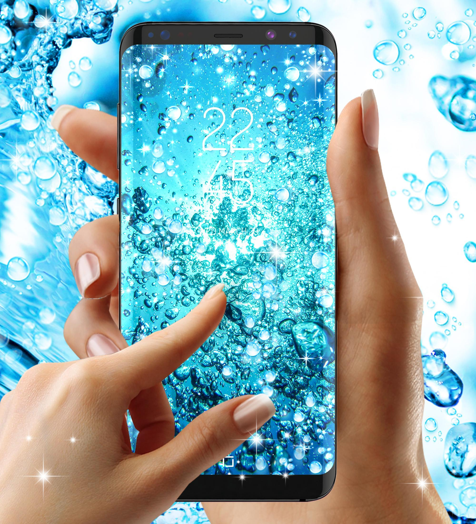 Water Drops Live Wallpaper For Android Apk Download