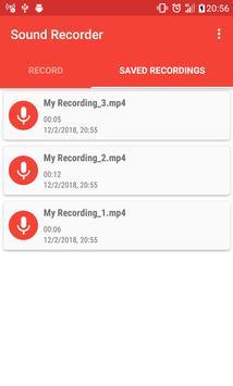 Sound Recorder screenshot 2