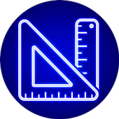 Measure protractor camera - Tape Measure icon