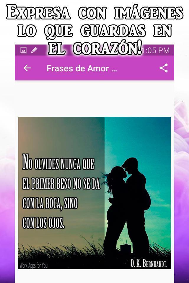 Frases Bonitas De Amor Cortas Y Filosóficas Pour Android