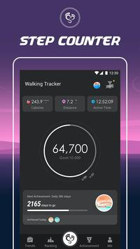 Walking Tracker постер