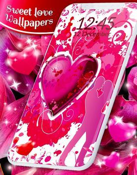 Sweet Love Live Wallpaper screenshot 3