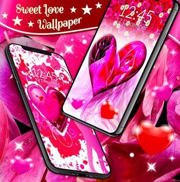 Sweet Love Live Wallpaper screenshot 4
