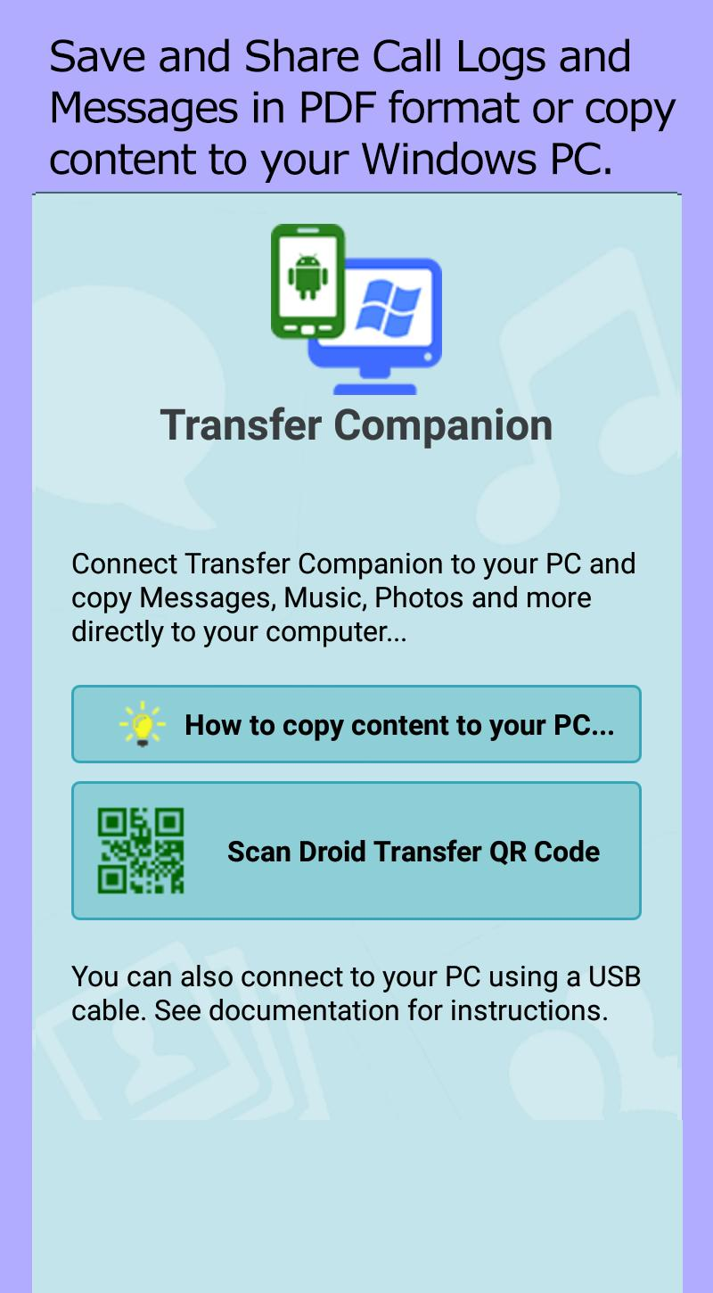 Transfer Companion for Android - APK Download